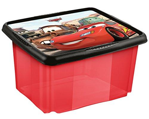 Cars Aufbewahrungsbox mit Dreh Stapelsystem