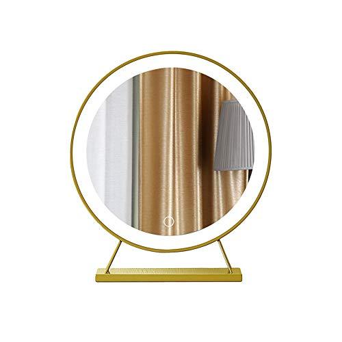 Espejo para maquillarse Escritorio Luz LED Luz de Relleno Espejo de Vestir Escritorio Grande Net Red...