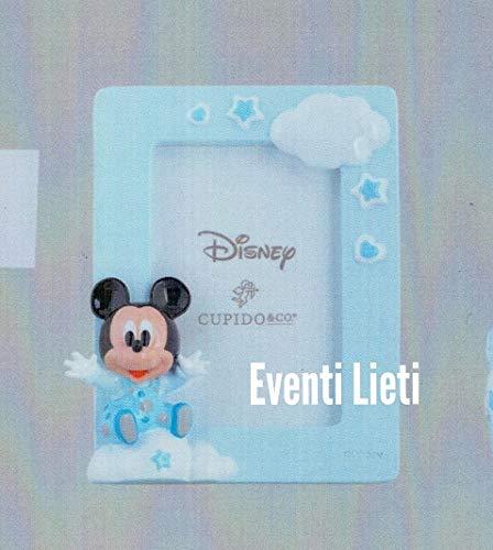 Eventi lieti & walt disney bomboniera battesimo nascita compleanno porta foto topolino mikey mouse con box