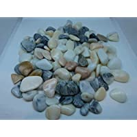 1kg of tumbled decorative stones by Artisan Craftworks