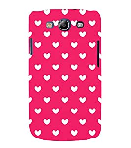 Attractive Love Design 3D Hard Polycarbonate Designer Back Case Cover for Samsung Galaxy S3 :: Samsung Galaxy S3 i9300