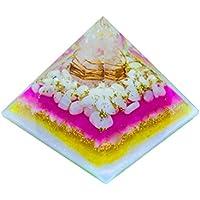 Crocon Neues Design Mondstein weiß Energetische Pyramide Bergkristall mit Point Energie Generator für Reiki Healing... preisvergleich bei billige-tabletten.eu