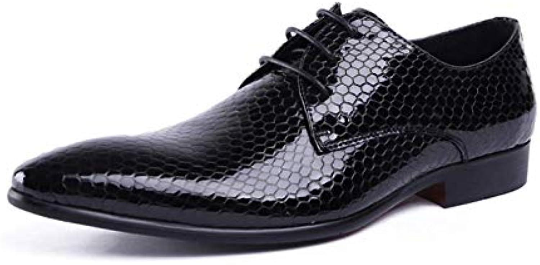 Scarpe in Pelle da Uomo Business Business Business Broch in Gomma Traspirante Confortevole Pizzo Intagliato | The King Of Quantità  | Scolaro/Ragazze Scarpa  77e1d7
