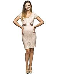 Elegantes und bequemes Umstandskleid, Brautkleid, Hochzeitskleid für Schwangere Modell: Lace