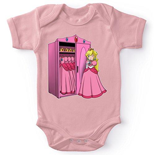 Bodys Super Mario parodique Princesse Peach : UNE Garde-Robe de Princesse.!? (Parodie Super Mario)