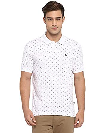 Parx White Regular Fit T-Shirt