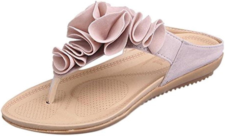 la femme luckuk tongs  s, sandales, mesdames les sandales flop, de plage pantoufle flip flop, sandales les tongs décontracté... a4e0ba