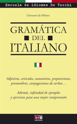 Gramática del italiano por Giovanni da Milano