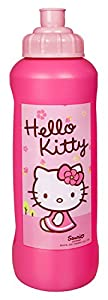 Unbekannt scooli hkyx9911 - Deportes Botella, Hello Kitty, Aprox. 450 ml