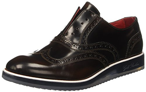 GOLD BROTHERS  Victory Glass, Chaussures de ville à lacets pour homme Marrone (Testa Di Moro)