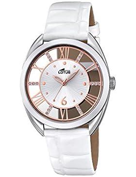 Lotus Damen-Armbanduhr Analog Quarz Leder 18224/1