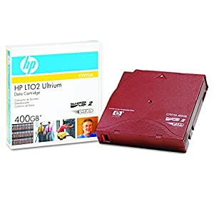 HP Ultrium C7972A 400GB Data Cartridge (Red)