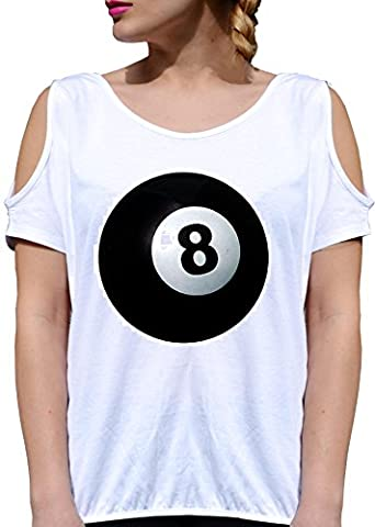 T SHIRT JODE GIRL GGG27 Z0151 8 BALL POOL BILLIARD