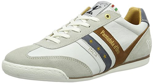 Pantofola d'Oro Herren Vasto Uomo Low Top Weiß (Bright White)