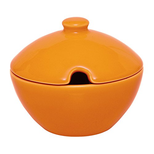 Excelsa Zuccheriera Formaggera, Ceramica, Arancio