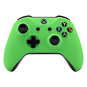 eXtremeRate Hülle für Xbox One S/X Controller,Case Gehäuse Schutzhülle Cover Oberschale Faceplates Zubehör Set Schale für Xbox One S/Xbox One X Controller Model 1708(Silber)