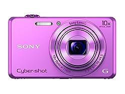 Sony Cybershot DSC-WX220/P 18.2MP Digital Camera (Pink)