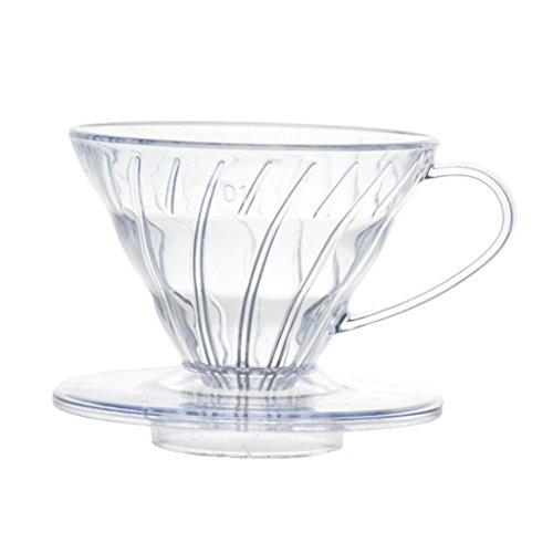 Baoblaze Kunstoff Kaffeefilterhalter Kaffee Filter Halter - 1-2 Tasse