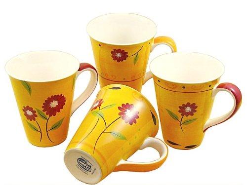 Cha Cult 'Danja' Lot de 4 Mugs 0.3L