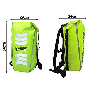 mochila de alta visibilidad Lomo para bici