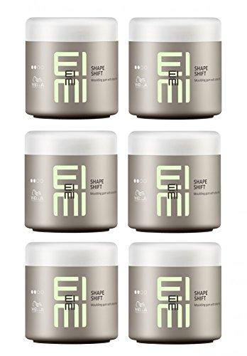 Wella EIMI Shape Shift 6 x 150 ml Styling Texture Modellier Gum mit Glanz Professionals
