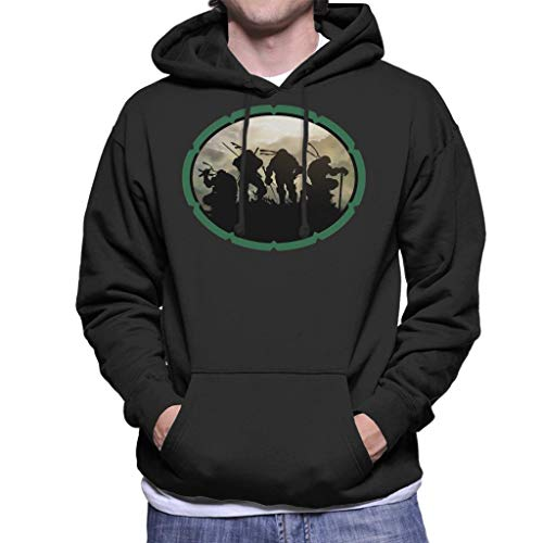 Teenage Mutant Ninja Turtles Shell Men's Hooded ()