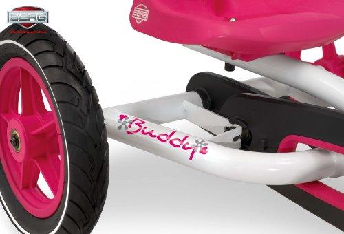 Imagen principal de Berg Toys 24.20.61.01 - Quad infantil (3 a 8 años, 20,5 kg), color rosa, blanco y negro