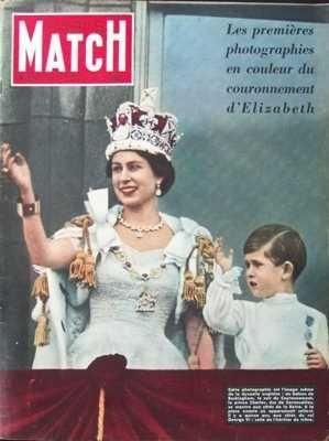 PARIS MATCH [No 221] du 13/06/1953 - ALCIDE DE GASPERI ANDREY NIJINSKY ARMES NOUVELLES CABARETS CHARLES D'ANGLETERRE COREE ELIZABETH D'ANGLETERRE GIOVANNI GUARESCHI GOUVERNEMENT DE LA France HENRY SZERYNG LA MODE MARSANICH MEDECINE LEUCEMIE PAUL LEAUTAUD PHOTOGRAPHIE RENE CLAIR ROBERT SIVARD ROGER VERCEL SPORT HIPPIQUE SYNGMAN RHEE TELEVISION THEATRES INFORMATIONS GENERALES TOGLIATI par COLLECTIF