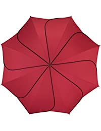 Pierre Cardin Paragua plegable, rojo (rojo) - 80768