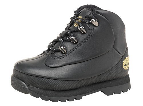 Timberland Bromilly Boys Black Silver Toddler Boots  6 EUR 23