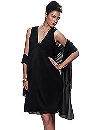 f722c9b299 Vêtements de sécurité Femme Blouses Ddupnmone Solide O Cou Manches Trois  Quarts Tops Printemps Occasionnel Mode Chic ...