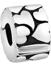 Nenalina Stopper für Beads-Armband auch kompatibel für Pandora Beads Armbänder 718909-000