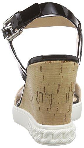 Casadei - 2le80d, Sandali con tacco Donna Nero (Nero (Nero))