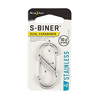 Nite Ize Sbiner Metal #2 Mosquetón, Hombres, Plateado, 2 (B000SO6K7K) | Amazon Products