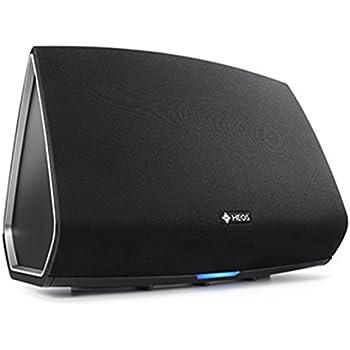 Denon HEOS 5 HS2 Audio-streaming Lautsprecher (Multiroom, Amazon Music, Spotify connect, Deezer, Tidal, Soundcloud, NAS, Bluetooth integriert, WLAN, USB, Appsteuerung, Aux-In) schwarz