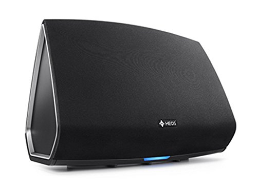 Denon HEOS5BKE2 HEOS 5 audio-streaming parlantecon (Multi Room, Spotify Connect, Deezer, Tidal, sonido Cloud, Les dimostodo, Bluetooth, WLAN, USB, la inflación aplicaciones, AUX-In) Colour negro (importado)
