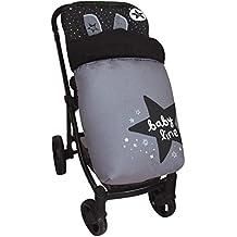 Saco de Bebé Universal Silla Polar COMPLETO + Cubre Arnés de regalo, desmontable, tejido