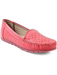 meriggiare® Women PU/Synthetic Leather Slip-ons Handcrafted Detailed Work Casual/Evening Comfortable Loafers