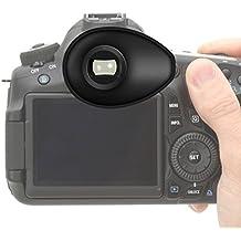 First2savvv Calidad premium Cámara réflex DSLR 22mm Ojera para Nikon D750 D610 D600 D500 D300S D7200 D7100 D7000 D90 D5500 D5300 D5200 D5100 D5000 D3400 D3300 D3200 D3100 D700 D300 D200 D100 D80 D70 D60 D70 D60 DSLR Camera - QJQ-TX-P-P01