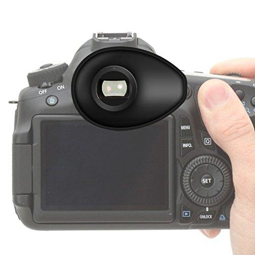 First2savvv Calidad premium Cámara réflex DSLR 22mm Ojera para Nikon D750 D610 D600 D500 D300S D7200 D7100 D7000 D90 D5500 D5300 D5200 D5000 D3400 D3300 D3200 D3100 D700 D300 D200 D100 D80 D70 D60 D70 D60 DSLR Camera - QJQ-TX-P-P01