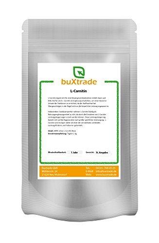 10 kg L-carnitine Base 100% pur Poudre acide aminéénergie Métabolisme