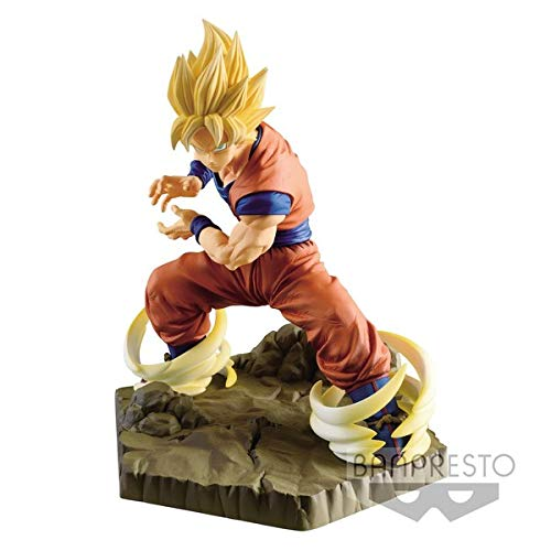 Banpresto. Dragon Ball Z Figure Son Goku SSJ Absolute Perfection Figure INMEDIATAMENTE Disponible