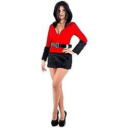 Picaresque - Disfraz mama noel rojo s/m