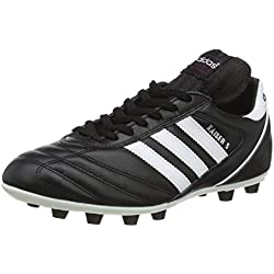 Adidas Kaiser 5 Liga, Scarpe Da Calcio Da Uomo, Nero (Black/Running White Ftw/Red), 41 1/3 EU