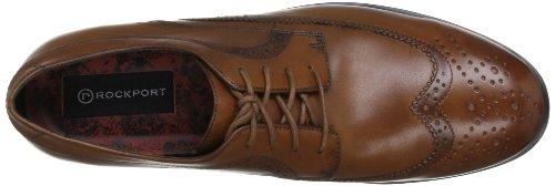 Rockport  Fairwood 2 Wingtip, Chaussures à lacets homme Marron (Light Tan)