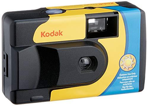 Oferta de Kodak SUC Daylight 39 800ISO - Cámara analógica desechable, Color Amarillo y Azul
