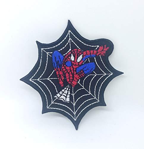 Parche bordado de Spiderman para coser o planchar