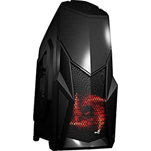 Aerocool CRUISESTAR Midi-Tower 750W Black computer case - computer cases (Midi-Tower, PC, ATX,Micro-ATX,Mini-ITX, Black, Gaming, 15.3 cm)