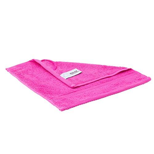 etérea Carli Seiftuch Waschtuch 30x30 cm Pink Qualitäts Frottierware 500 g/m² 100% Baumwolle 7+1 Größen viele Sparsets