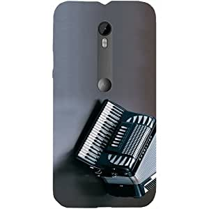 Casotec Akkardion Instrument Design Hard Back Case Cover for Motorola Moto G Turbo